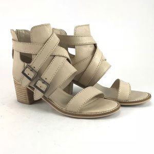 Kelsi dagger neutral cream heels